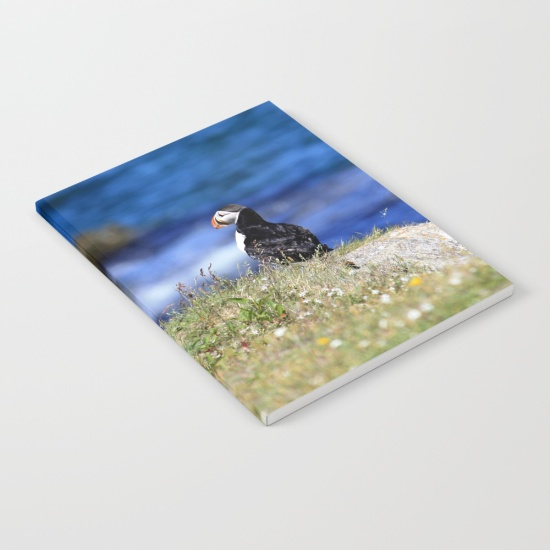 puffin-flowers-notebooks