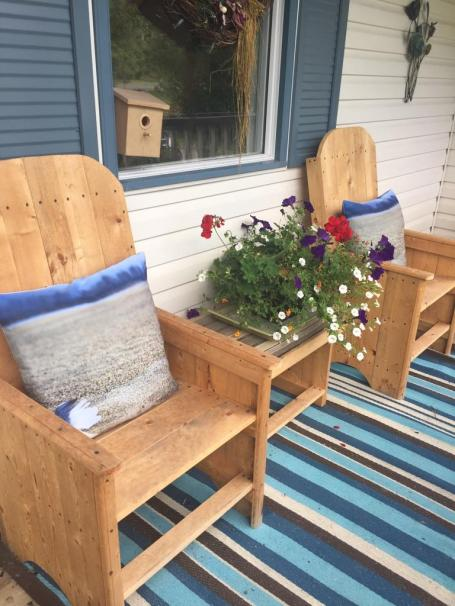 Customer Picture of my outdoor Patio Pillows